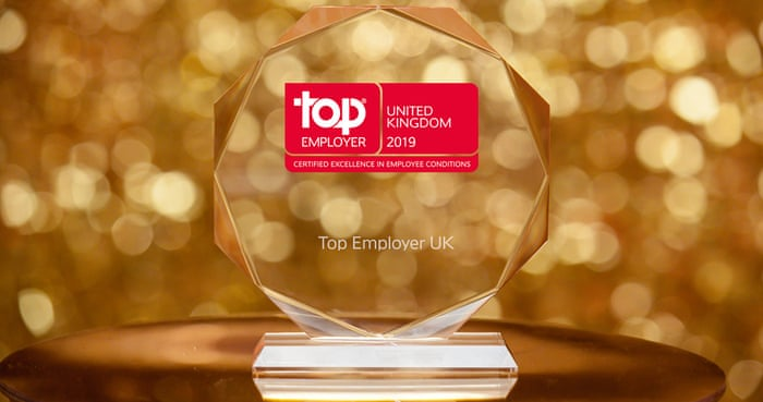 Top Employers UK 2019 | Guardian Careers | The Guardian