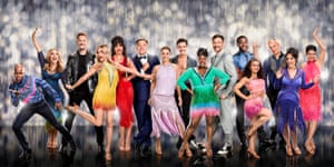 The gang's all here … the stars of the BBC's Strictly Come Dancing 2016.