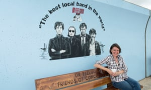 Jo and Dr feelgood bench
