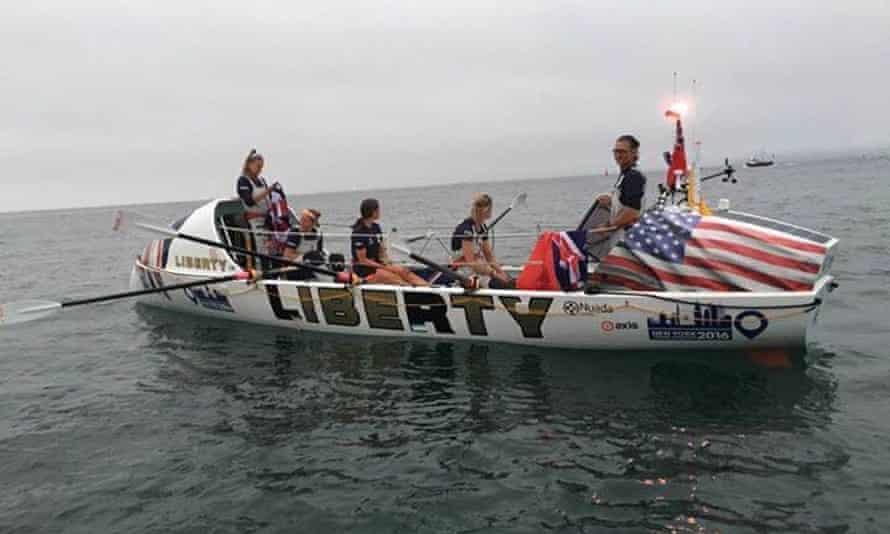 Rannoch womens rowing team