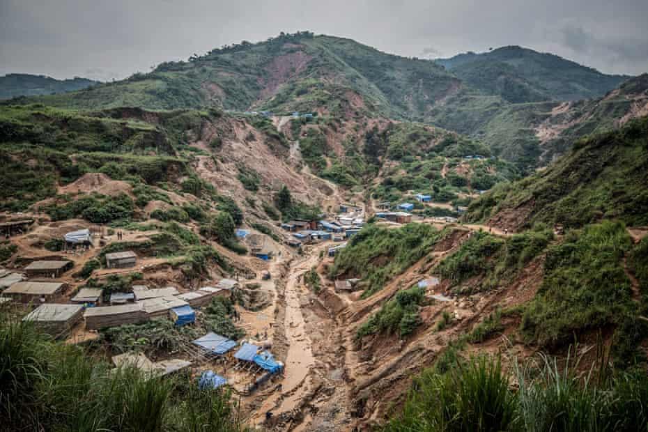 Kamituga, a mining town in DRC's South Kivu province.