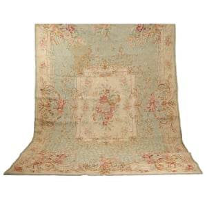 Large French tapestry wallhanging, £1,450, 19th century, in wool and silk, ceraudo.com
