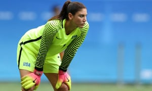 Hope Solo has sparked controversy throughout the Games.