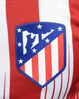 Atlético Madrid's crest.
