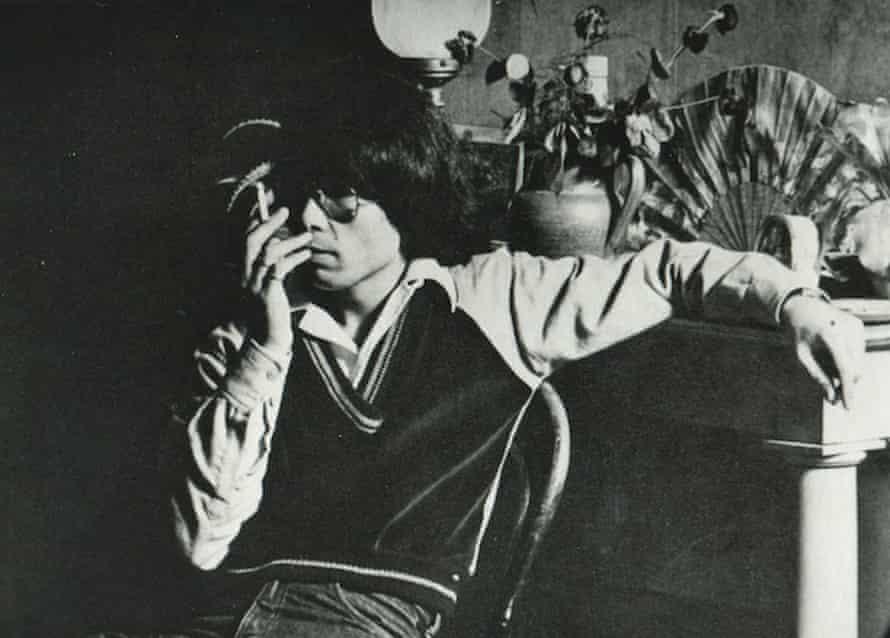 Designer Kenzō Takada wearing a Margaret Howell corduroy top.