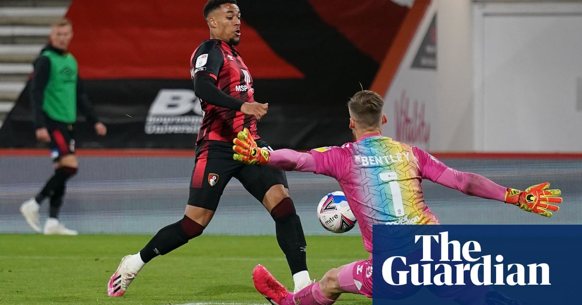 Danjuma lifts Bournemouth to second, Rotherham win after drone stops play