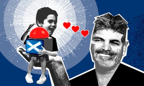 Is four-year-old Eric Cowell following in his father Simon's footsteps? A million percent yes