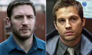 Repeat performances: Tom Hardy (left) and Logan Marshall-Green