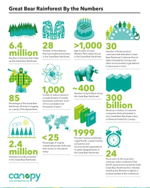 Great Bear Rainforest by the numbers