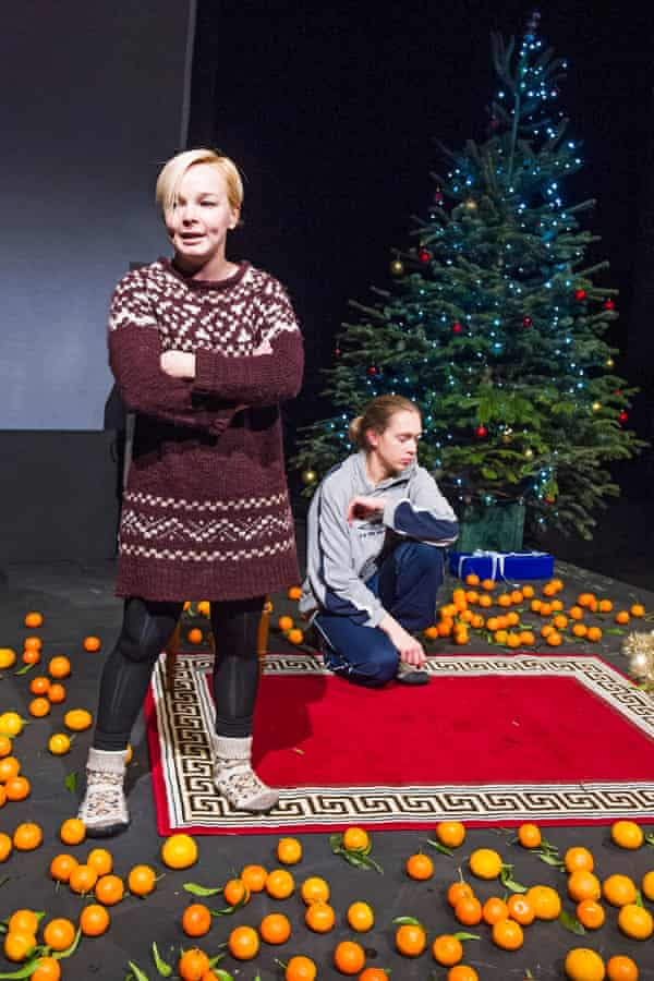Maryna Yurevich and Maryia Sazonava in Time Of Women by Belarus Free Theatre.