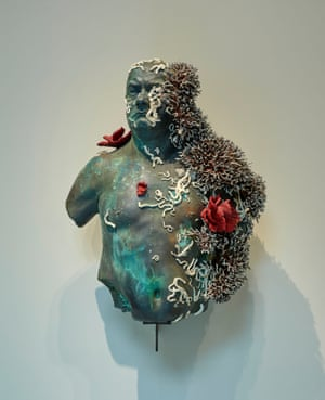 Hirst's self-portrait, Bust of the Collector.