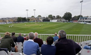 A view of play at Chelmsford.