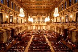 The Golden Hall of Vienna's Musikverein.