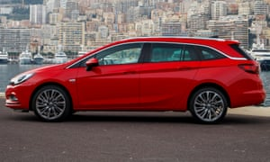 Vauxhall Astra Sports Tourer 1.6CDTi: 'On a motorway, it is dependable but catches you unawares.'