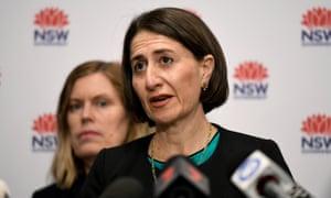 New South Wales, Australia Premier Gladys Berejiklian.