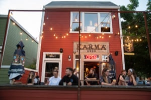 Karma Brew in midtown Sacramento. New bars and restaurants are proliferating in the city.