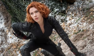 Scarlett Johansson as Black Widow/Natasha Romanoff, in Avengers: Age Of Ultron.