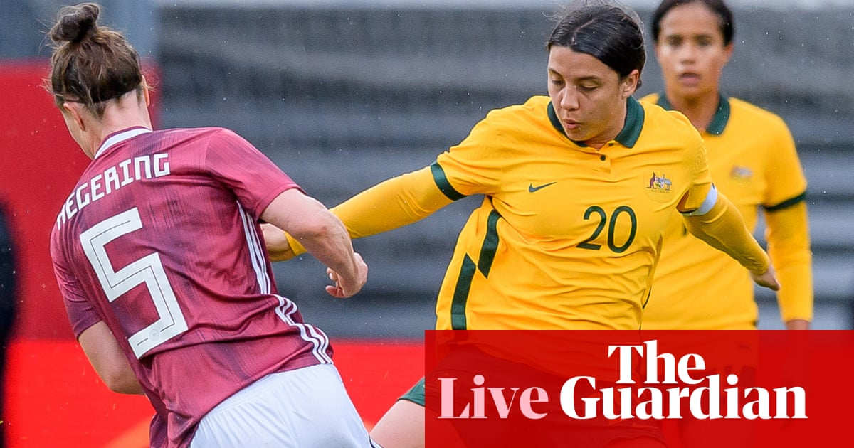 Germany rout Matildas 5-2 to give coach Tony Gustavsson 'reality check' – as it happened