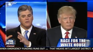 Hannity and Trump.