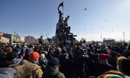 A rally in Vladivostok
