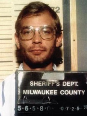 Jeffrey Dahmer's 1991 mugshot.