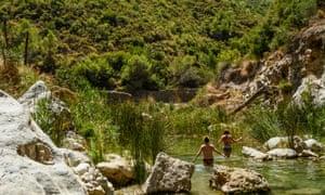 Rio Verde bottom pool.