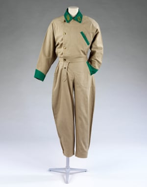 Willie Brown boilersuit, c1980, now in the V&A.