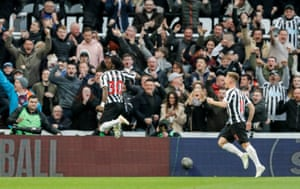Newcastle fans are delighted.