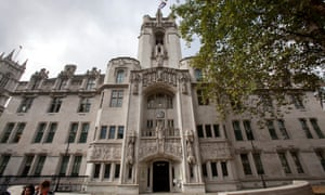 The UK supreme court in Parliament Square, London.