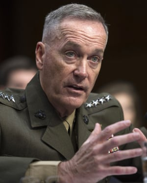Joseph Dunford, chairman of the US Joint Chiefs of Staff