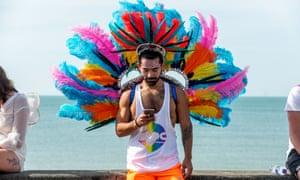 Plumage at Brighton Pride 2018