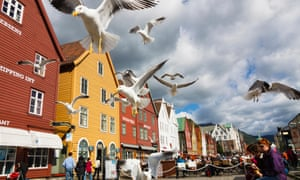 Bryggen, with its historic waterfront buildings, is a tourist draw.