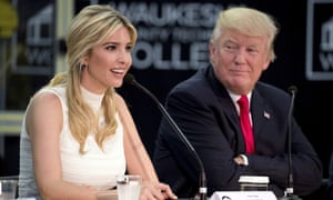 Ivanka and Donald Trump