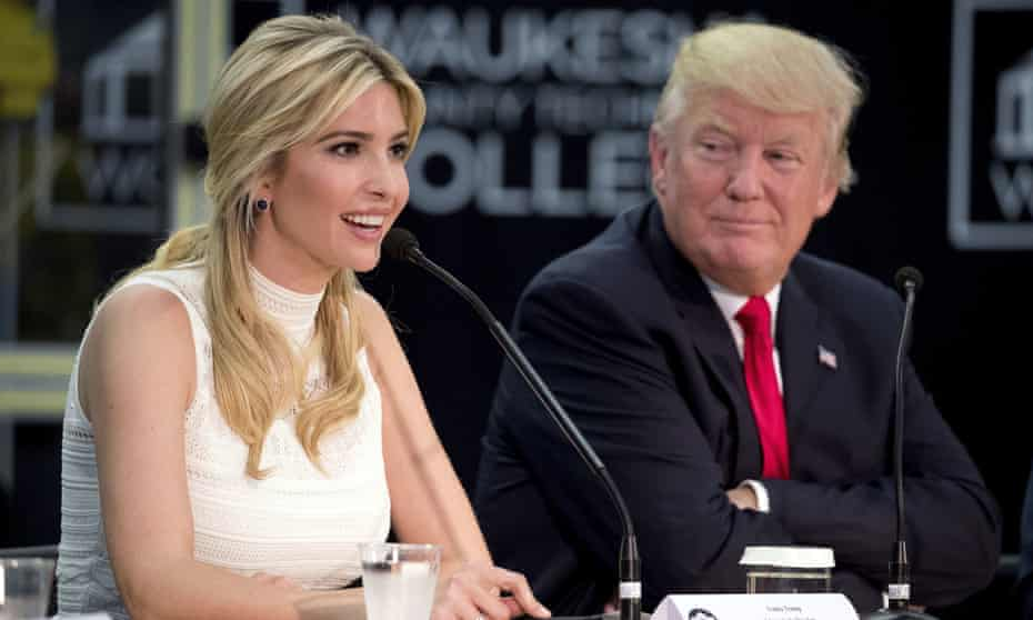 Ivanka Trump speaks, Donald Trump listens.