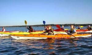 Sea kayaking, Estonia