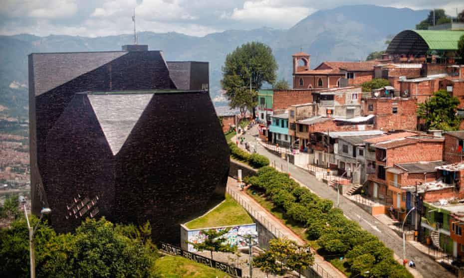 Medellin, Colombia Parque Biblioteca Espana