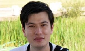 Australian student Alek Sigley