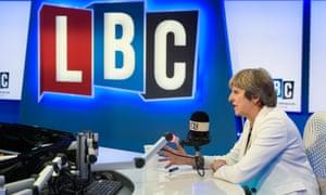 Theresa May at LBC