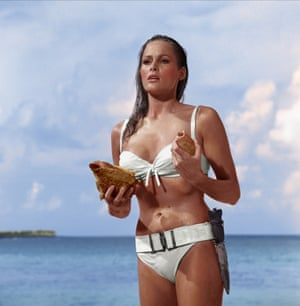 Ursula Andress in Dr No, 1962.