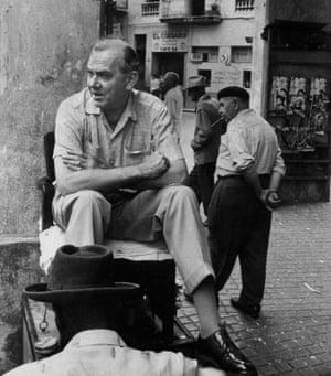 Noted sufferer … Graham Greene.