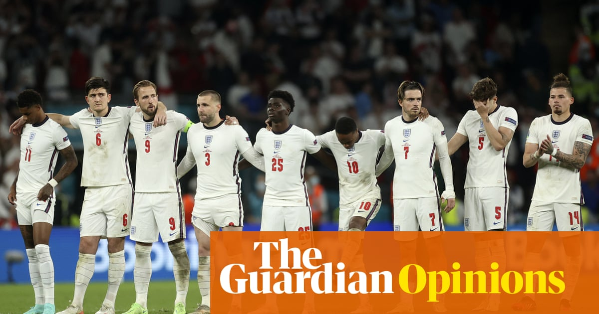 England may have lost, but Southgate's team shows us the nation we can be