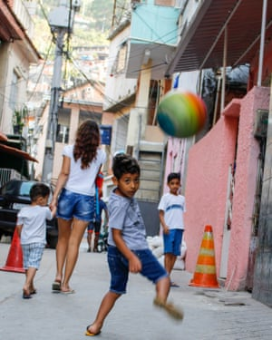 Young competitors in Turano favela prepare for the Olympics