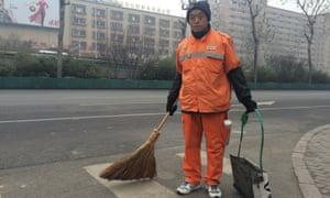 Li Biwen would not wear the mask his employers had given him.
