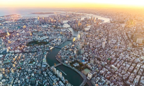 A city built on water: the hidden rivers under Tokyo's concrete and neon