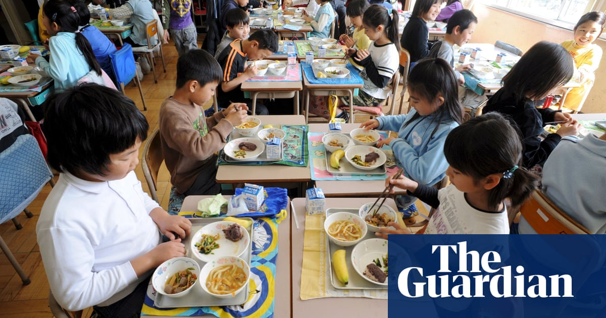 Baked cod, miso and bok choy: unpacking Japan's healthy school lunches