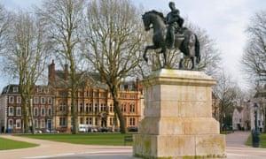 Queens Square, in Bristol.