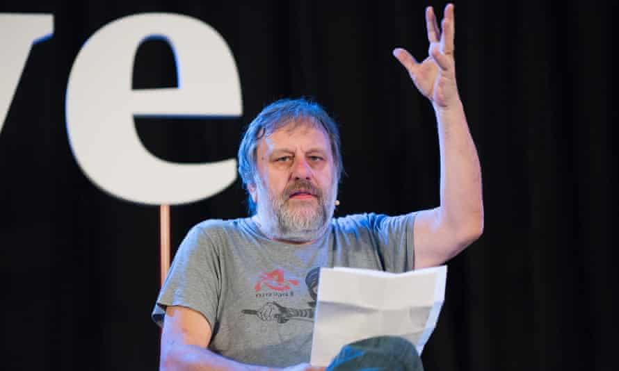 Žižek believes there are two strong Europes - 'anti-immigrant Europe' and 'anonymous Brussels Europe'