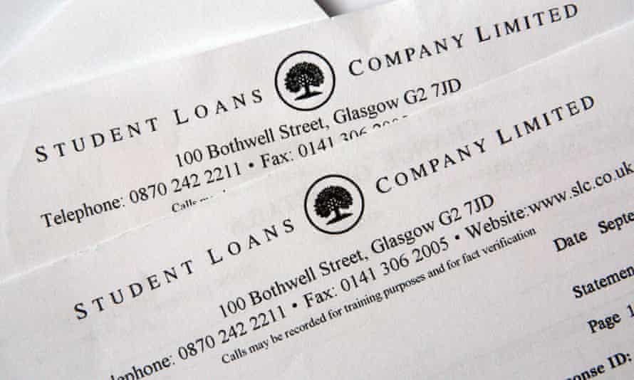 Student Loans Company correspondence