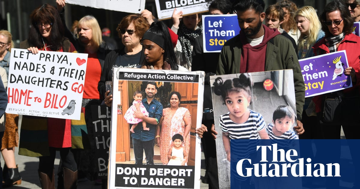 1000 days later: the Biloela family spending their third Christmas in detention – The Guardian