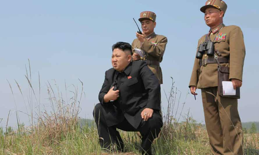 North Korean leader Kim Jong-un has ordered nuclear weapons to be readied.
